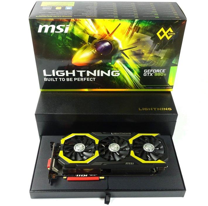 Still quite fast: MSI GTX 980 Ti Lightning
