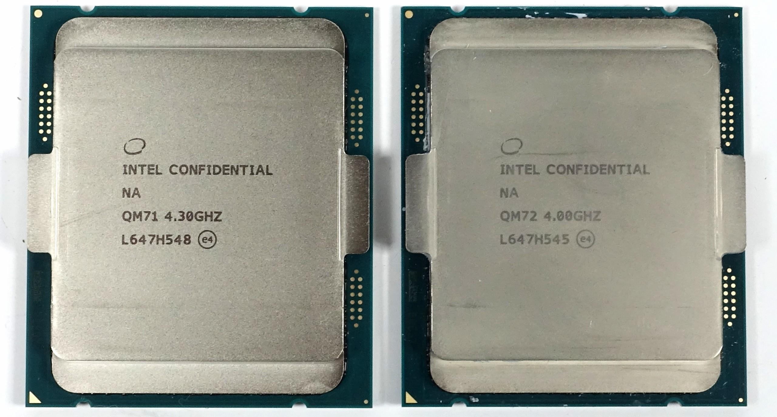 Intel Core i7-7740X und Core i5-7640X aus dem aktuellen Spin