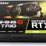MSI RTX 2080 Gaming X Trio - Box