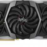 MSI RTX 2080 Gaming X Trio - Front