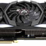 MSI RTX 2080 Gaming X Trio - Front Bottom