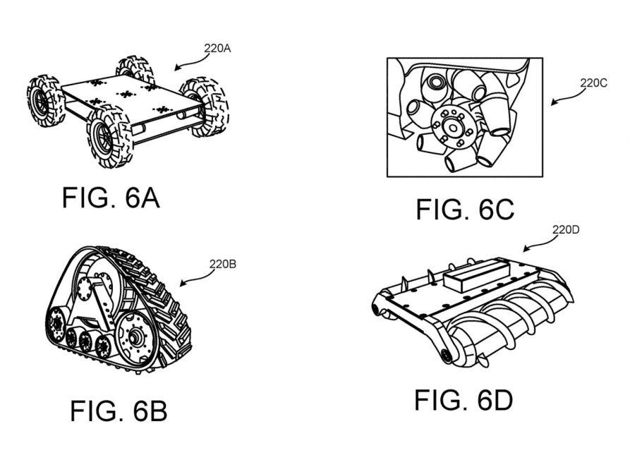 google vr shoes patent