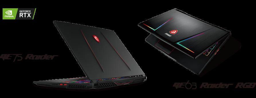 GE Serie MSI Notebook