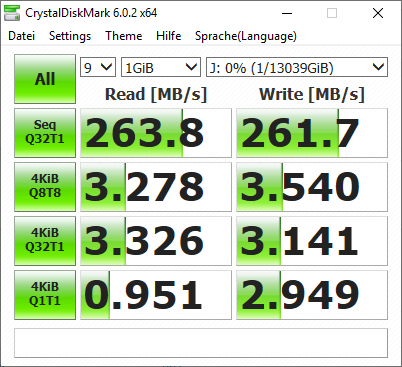 Seagate Ironwolf 14 TB HDD Benchmark