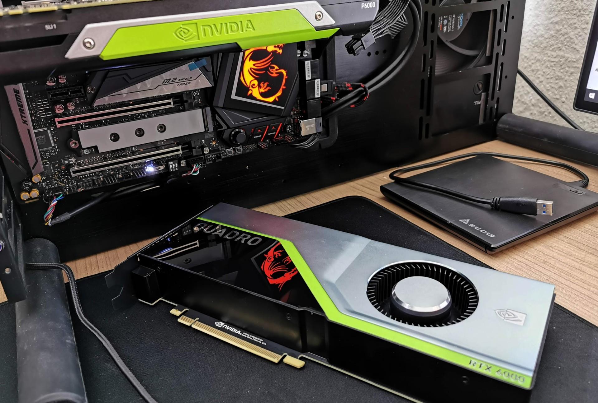 Can it run Crysis? Nvidia Quadro RTX 6000 and Quadro P6000 vs. 2007 Game in Ultra HD