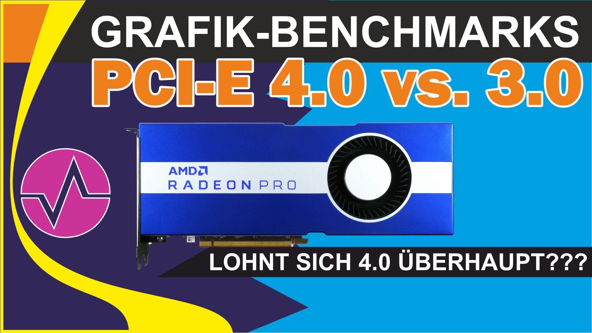 Was bringt PCI-Express 4.0 für Grafikkarten? Viele Benchmarks mit dem Ryzen 9 3950X und der W5700