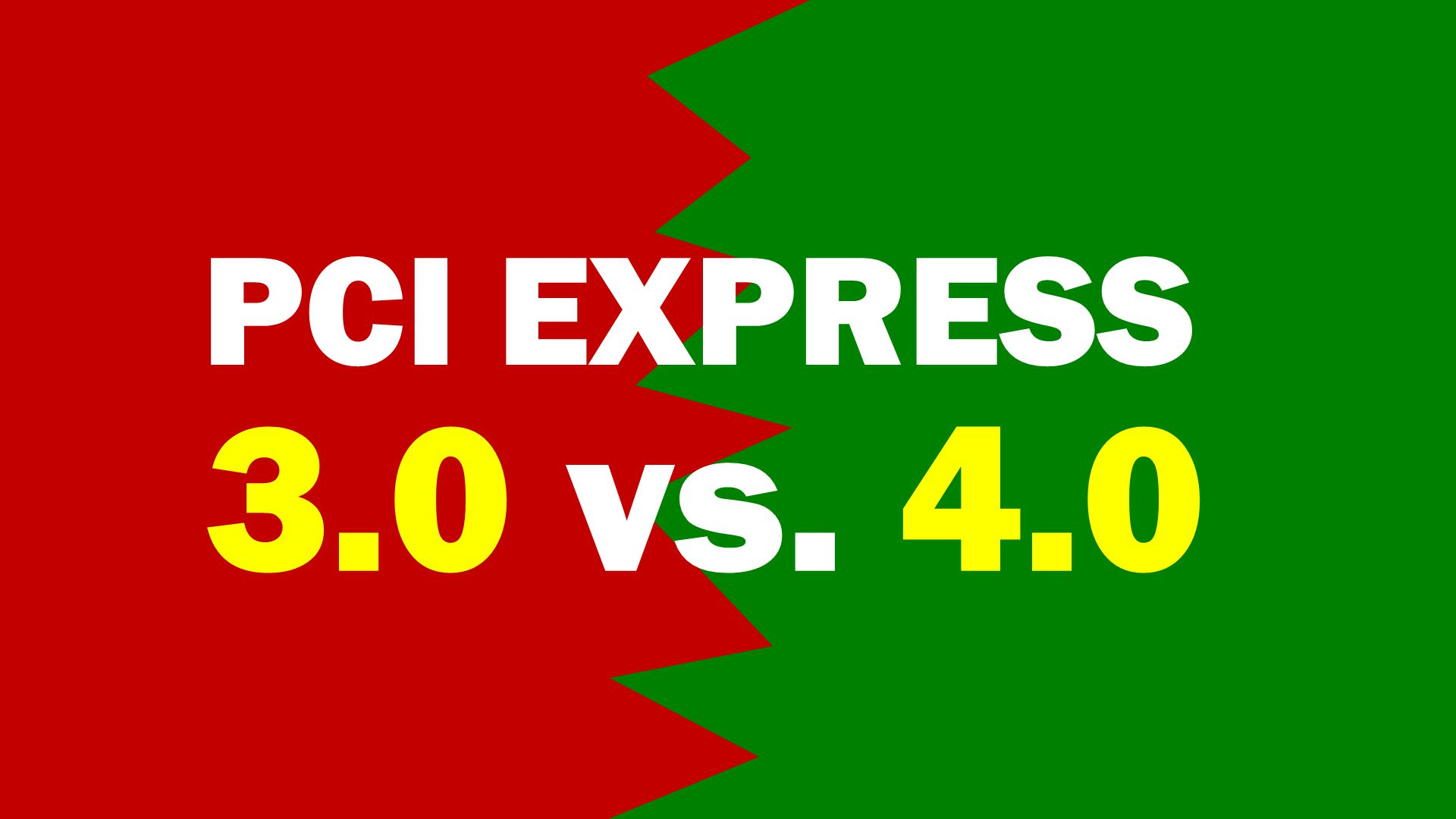 PCI-Express 4.0 vs. 3.0 in test - advantage or tie? Real workloads provide Aha-moments every now and then! | practical test