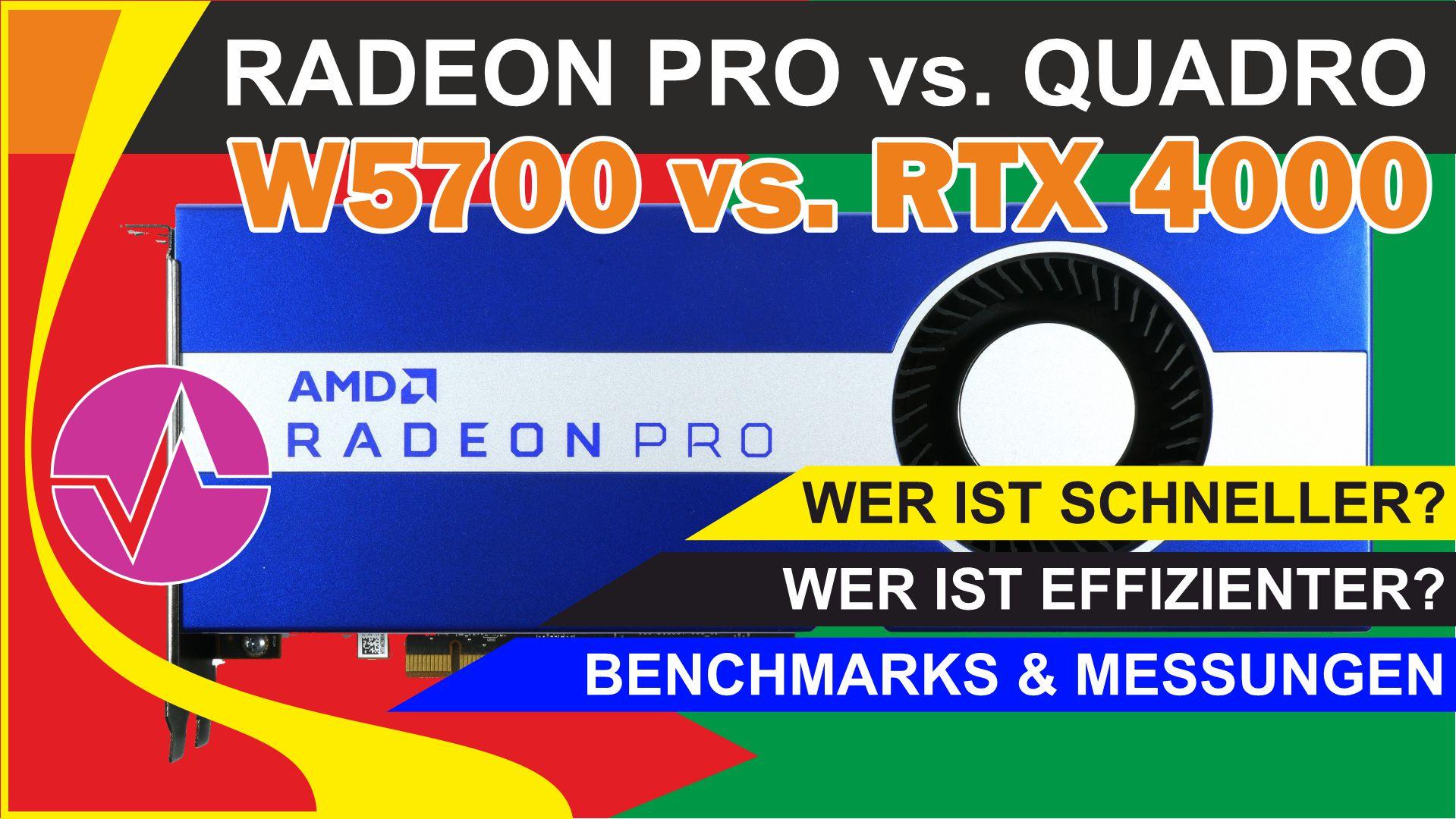 Ist die AMD Radeon Pro W5700  ein Quadro-Killer? AMD ist definitiv zurück, aber reicht das auch?