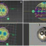 3dsmax_Space_Wireframe