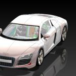 Audi R8 S.SLDASMShadedWithEdges_RealView_Shadow_FSAA