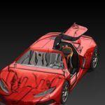 Supercar.SLDASMShadedWithEdges_RealView_Shadow_AO_FSAA