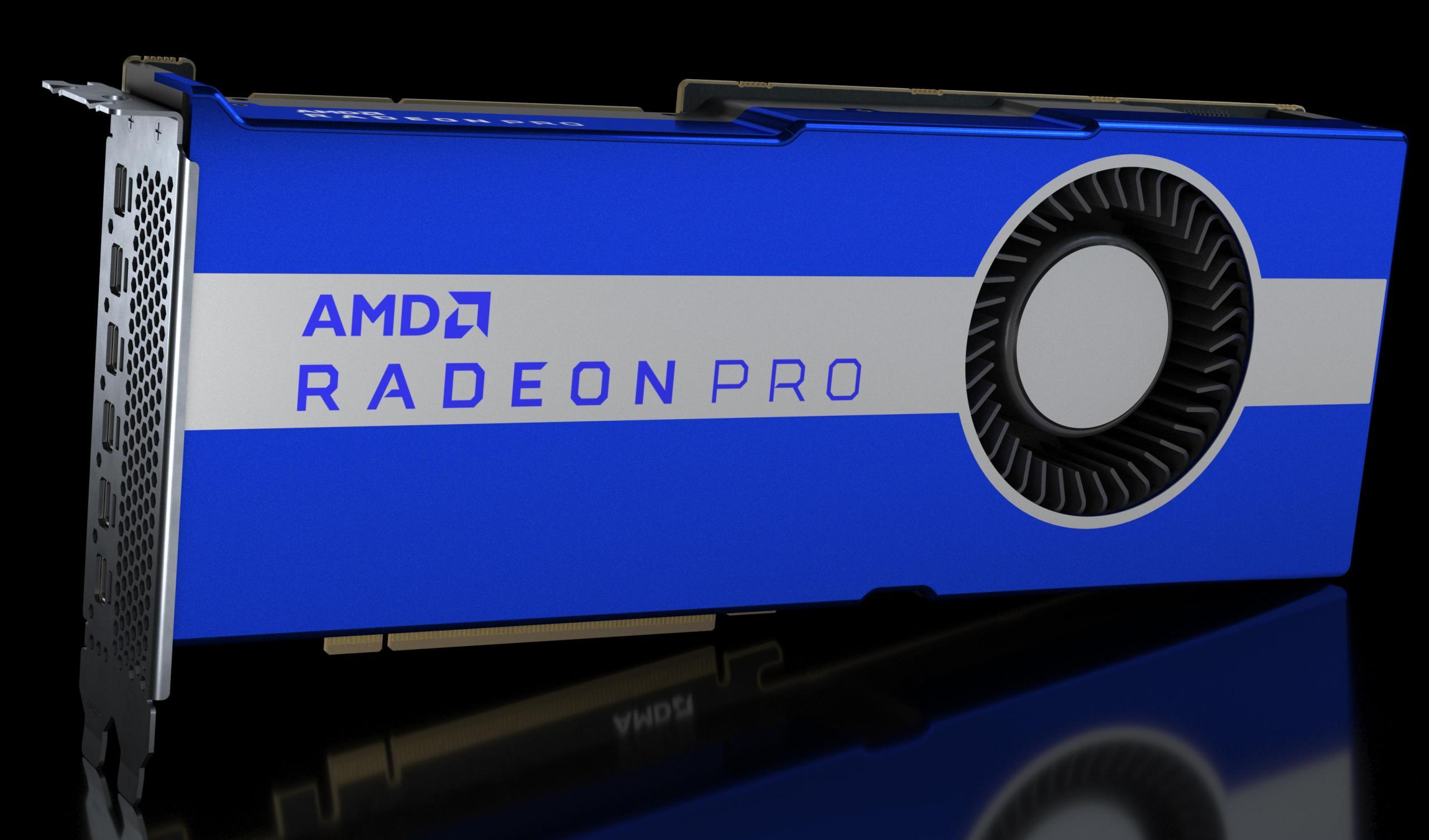 AMD Radeon Pro VII als Workstation-Grafikkarte: die interessante Wiederbelebung der Radeon VII