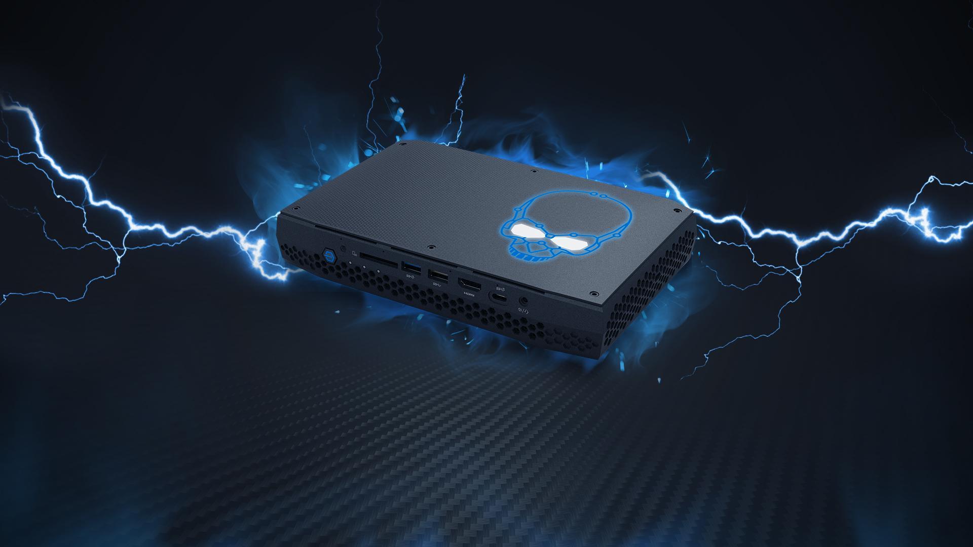 Intels 10 nm Tiger Lake-U CPU zeigt sich im NUC 11 Extreme mit bis zu 4,4 GHz Boost und NVIDIAs GeForce GTX 1660 Ti als 80W Notebook-Grafik auch