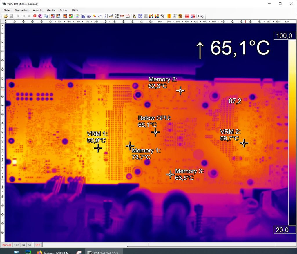 380 Watts - 1800 RPM - Furmark
