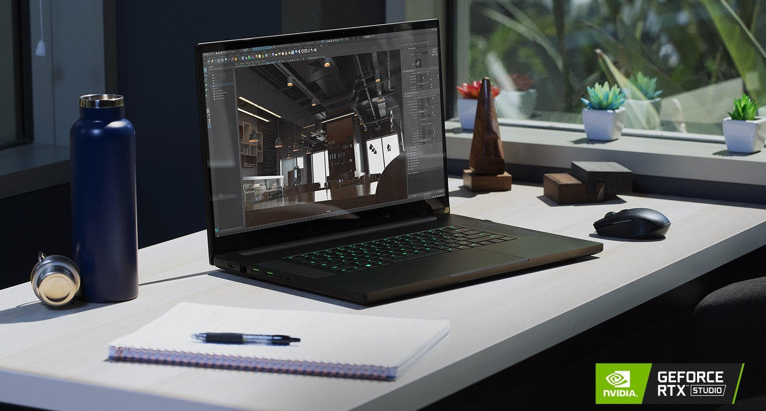 Working, creating and designing on the notebook - the workstation and studio test on portable devices