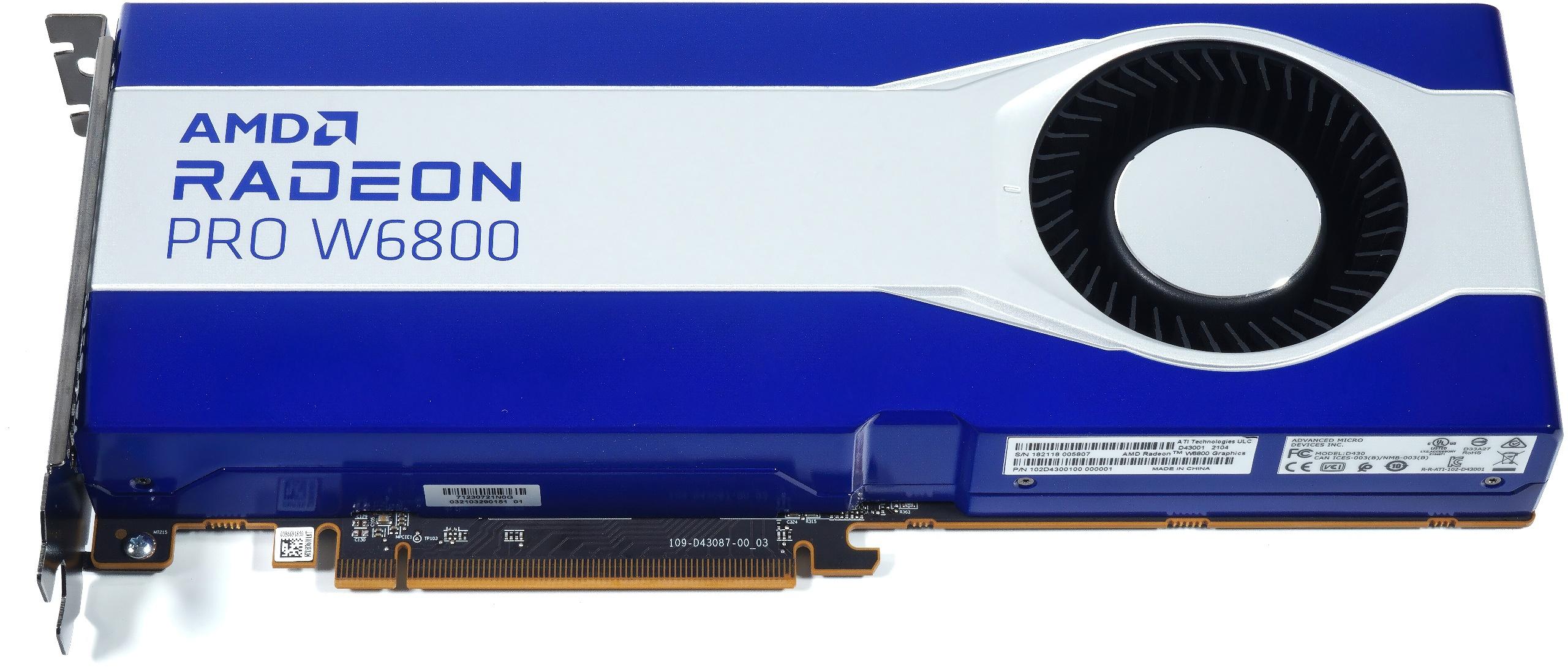 AMD Radeon Pro W6800, W6600 und W6600M im Überblick mit eigenen Bildern und einem ersten Hands-On-Test
