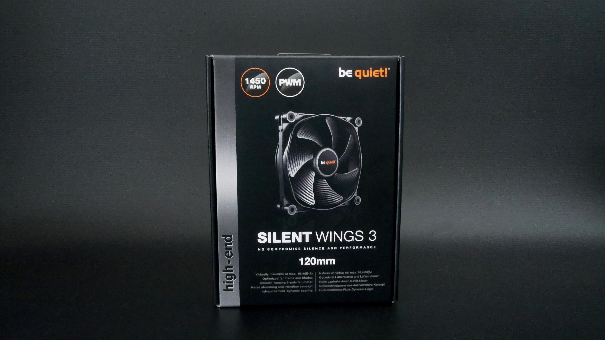 be quiet! Silent Wings 3 im Test - Der neutrale Gehäuselüfter für alle Fälle