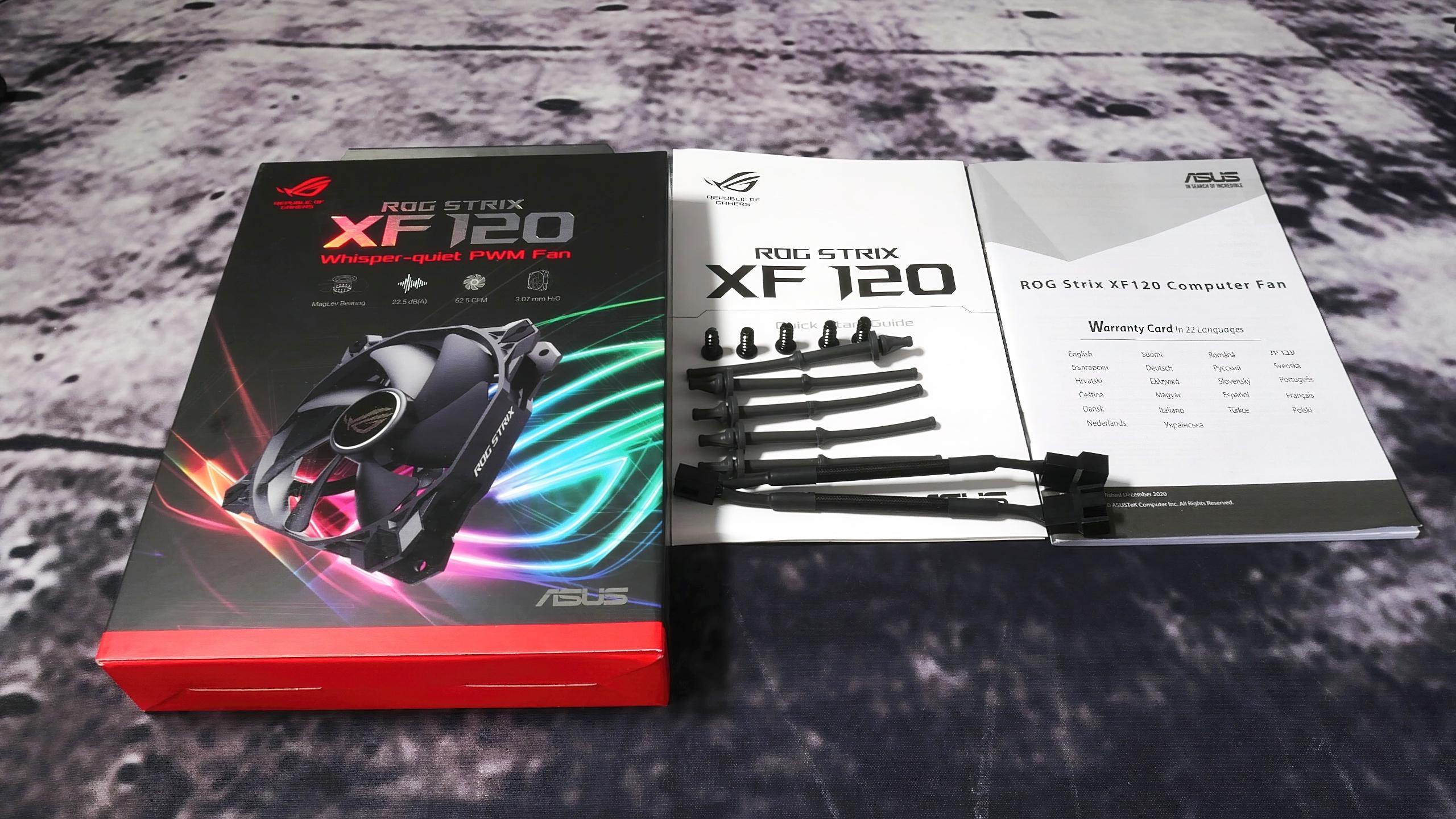 ASUS ROG Strix XF 120 Gehäuselüfter im Test - Nicht mal schlecht, aber viel zu teuer