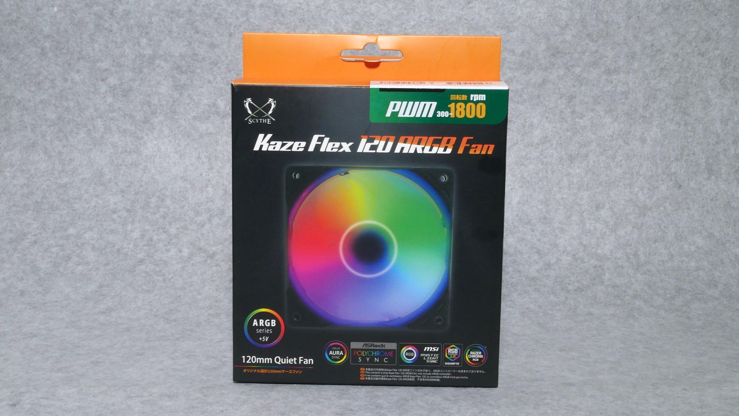 Es wird immer besser - Scythe Kaze Flex 120 ARGB Gehäuselüfter bis 1800 RPM, viel Druck, extremen Durst und erstaunlich wenig Krach
